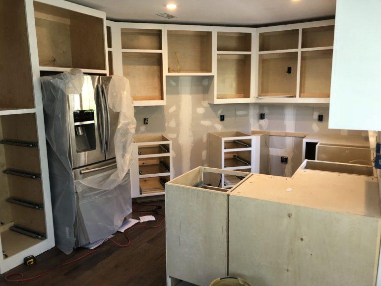 custom cabinet white