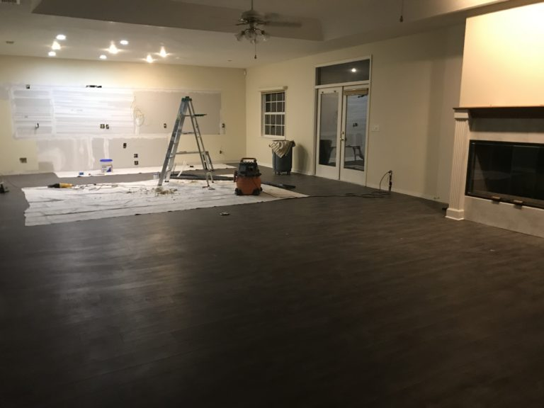 Electrical and drywall